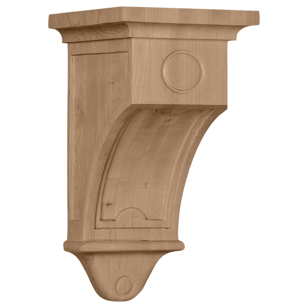 7.5 x 7.5 x 14 Arts & Crafts Corbel