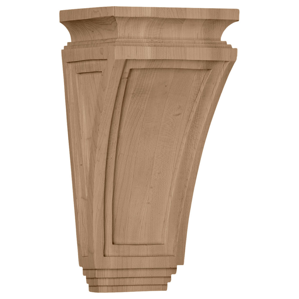 6 x 4.75 x 12 Arts & Crafts Corbel