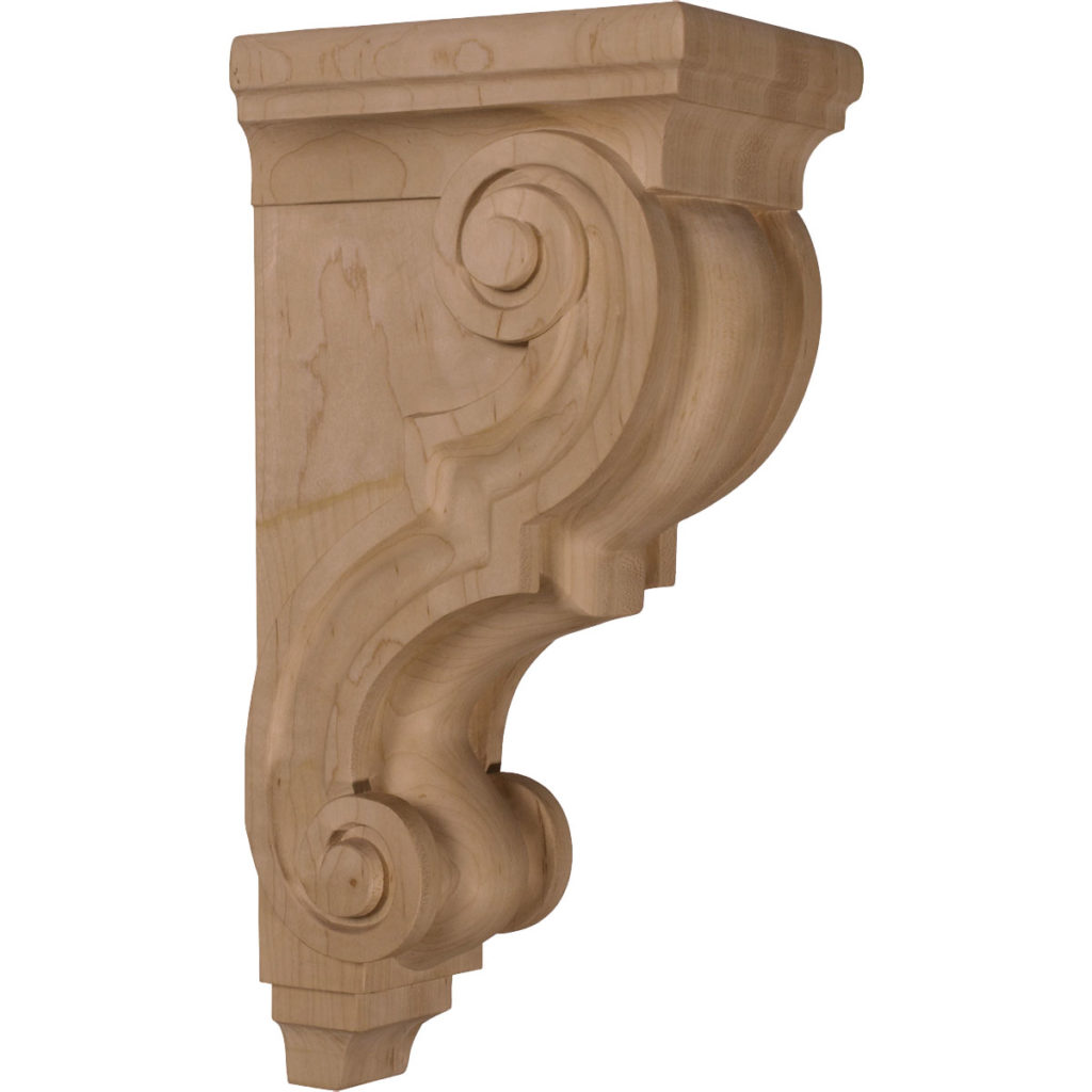 5 x 6.75 x 14 Large Traditional Corbel