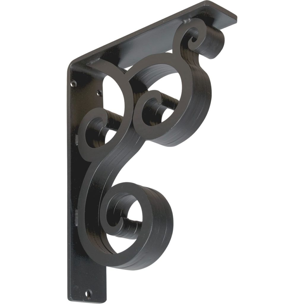 Medway Wrought Iron Bracket – Triple Brace