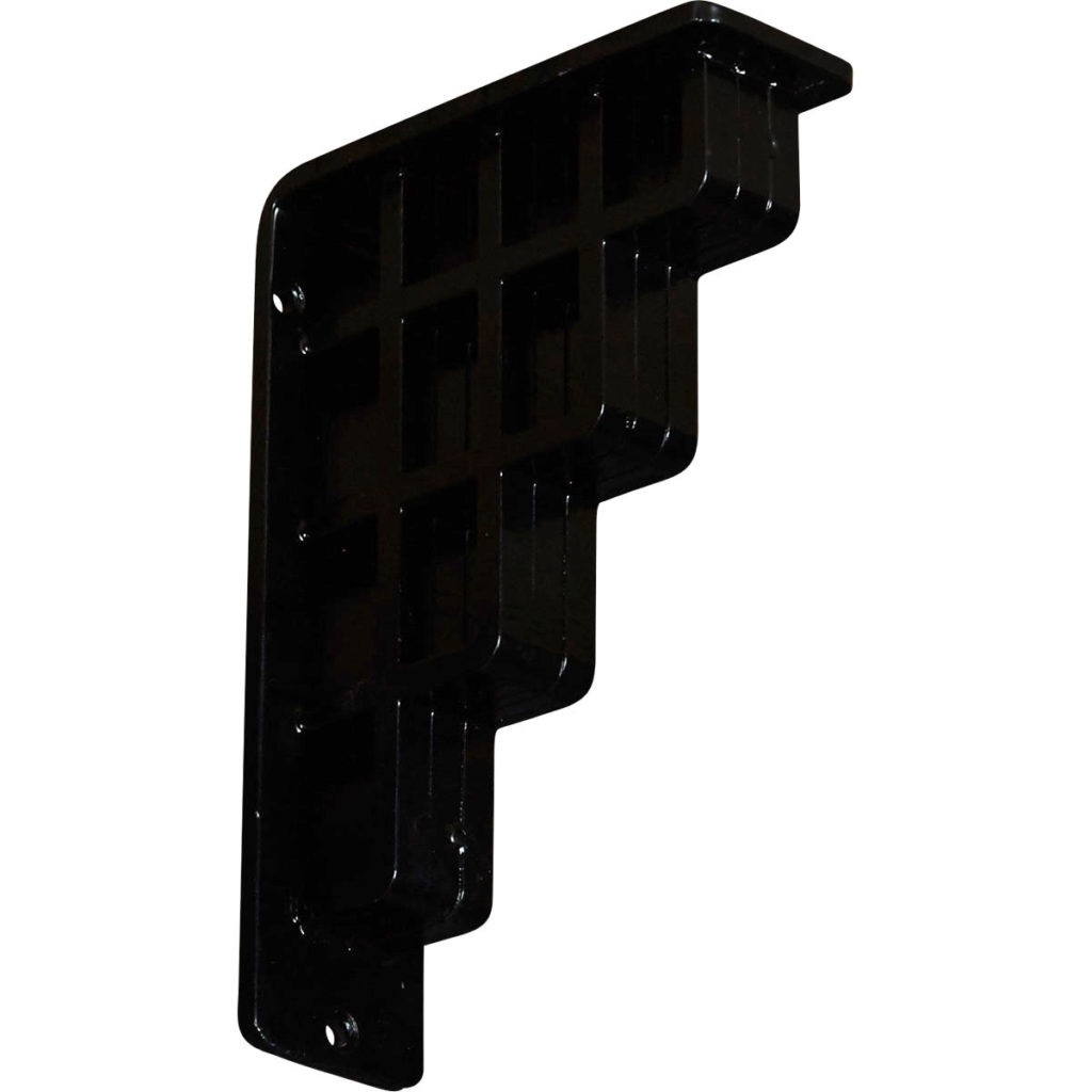 Diane Wrought Iron Bracket – Triple Brace