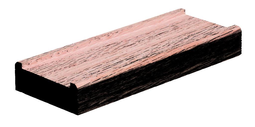 Shoe Rail 6008 w/ 1 3/4″ Plow