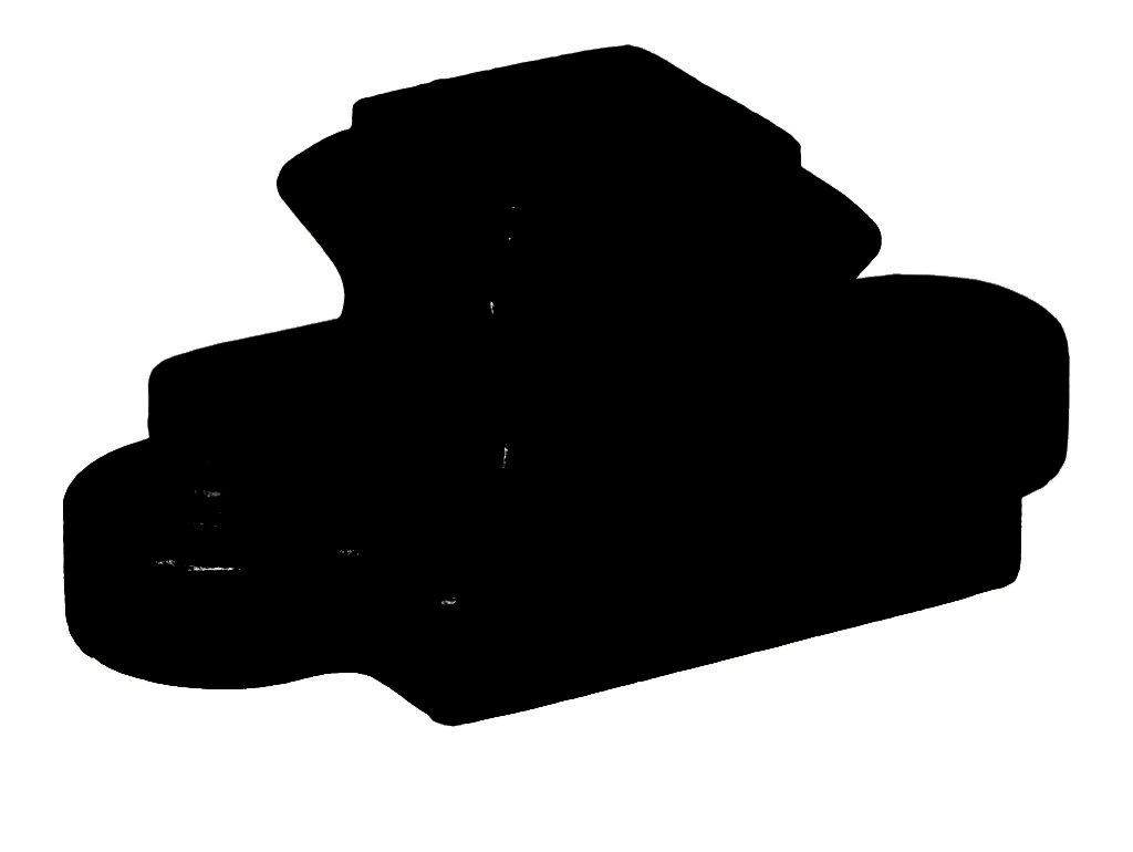 9/16″ Flat Black Wrought Iron Inner Down Ears with Set Screw (Box of 50)