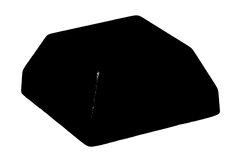 Easy Fit Flat Black Wrought Iron Square Shoe (Box of 50)
