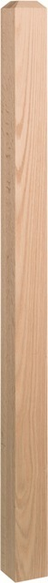Square Newel with Chamfer Top 3045
