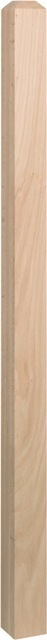 Square Newel with Chamfer Top 3046