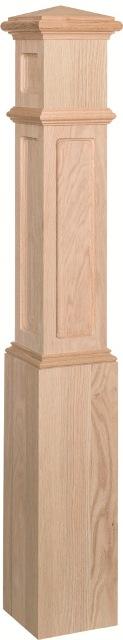 Flat Panel Box Newel # 4050