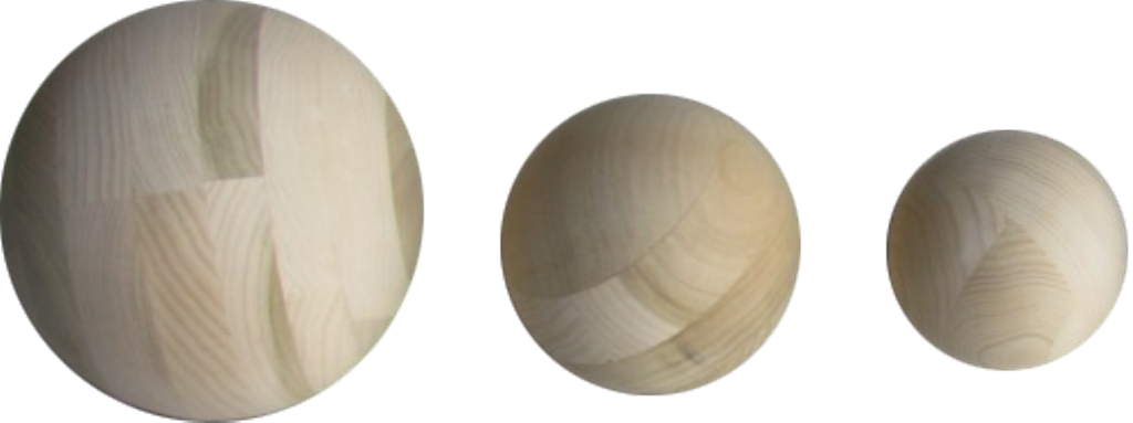 Large Poplar & Oak Balls