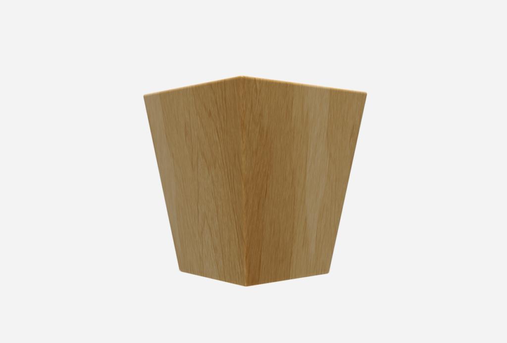 SQ Four-Sided Taper 4.5″ x 5″