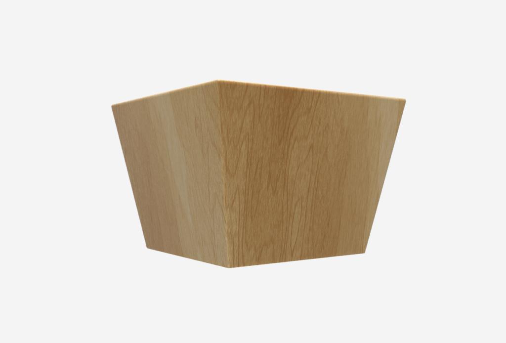 SQ Four-Sided Taper 5.75″ x 4″