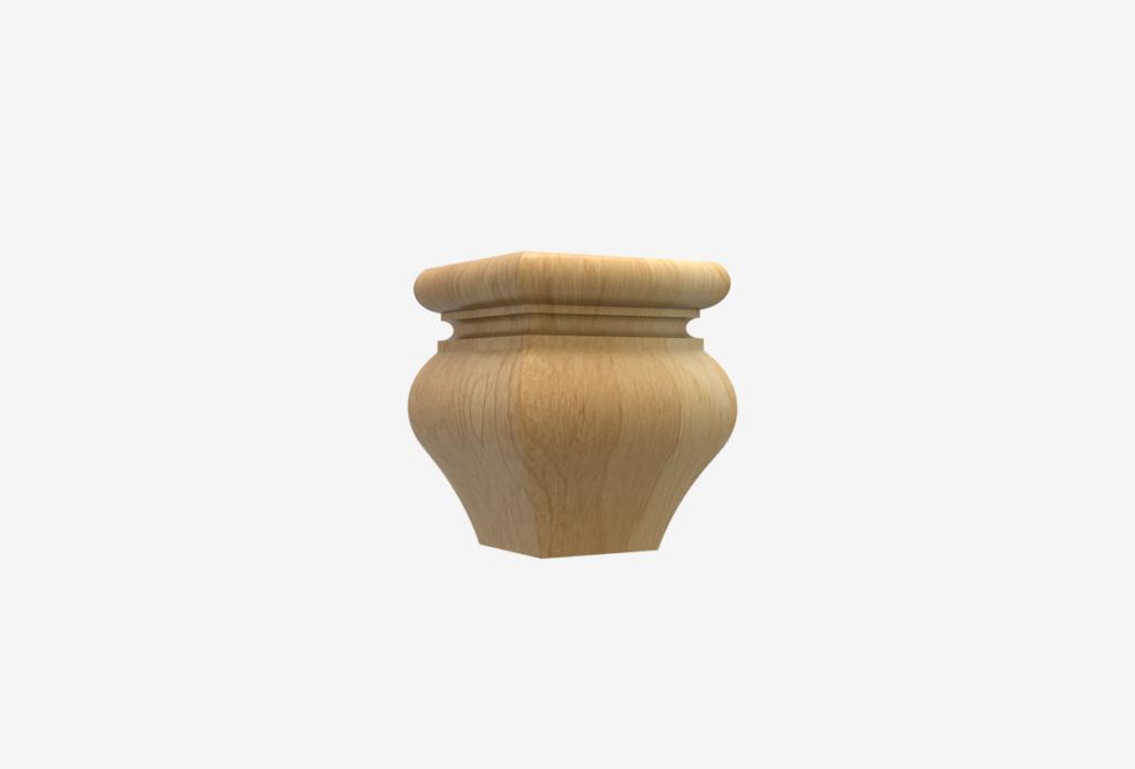 Small SQ Tulip 3.5″ x 4.5″