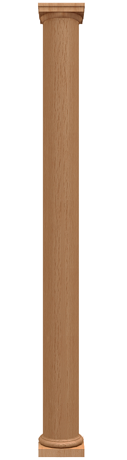 Straight Smooth Columns