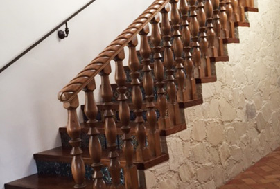Ornate Balusters for Traditional Staircase