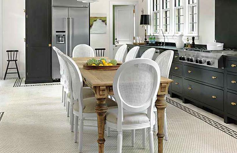 Custom turned kitchen table legs for modern homes