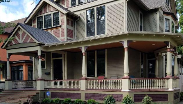 Front Porch Posts Exterior Wooden Porch Columns Pa Md Nj