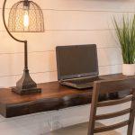 Custom floating desk
