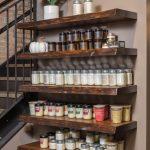 Floating shelves for businesses