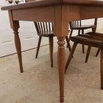 Walnut Custom Turned Dining Table and Coffee Table Legs